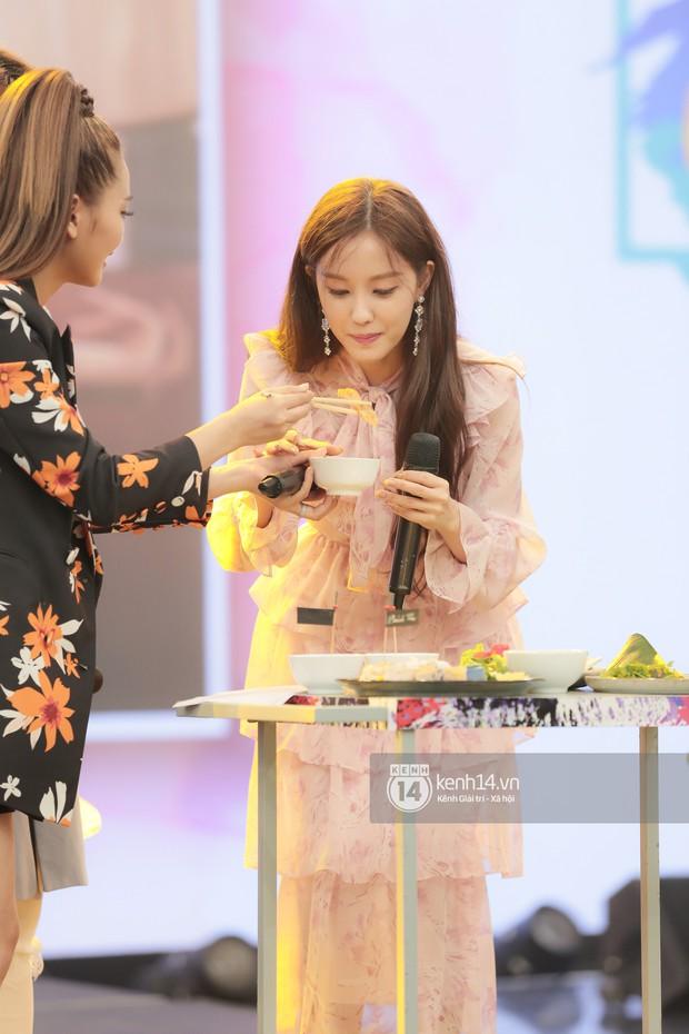 Fan phấn khích khi nghe Hyomin (T-ara) bập bẹ gọi tên chả giò, bánh tôm... trên show thực tế tại Việt Nam - Ảnh 5.