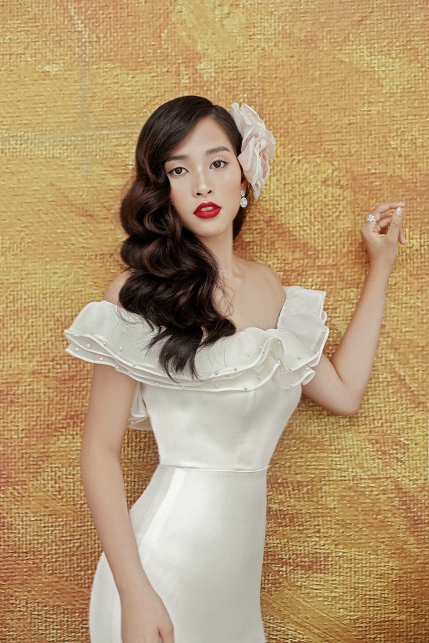 Mỹ nhân 10x Trần Tiểu Vy lột xác quyến rũ sau nửa năm đăng quang Hoa hậu Việt Nam 2018 - Ảnh 6.