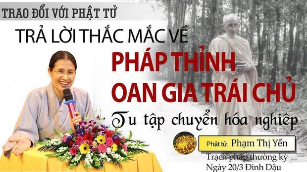 Bà Yến chùa Ba Vàng nói không xúc phạm, không xin lỗi gia đình nữ sinh giao gà bị sát hại - Ảnh 2.