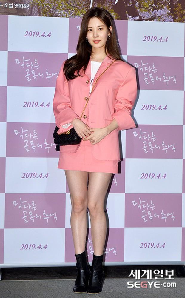 Sooyoung mời cả dàn mỹ nhân SNSD đến sự kiện: Taeyeon thảm họa, em út Seohyun đọ body siêu nuột với nữ diễn viên - Ảnh 8.