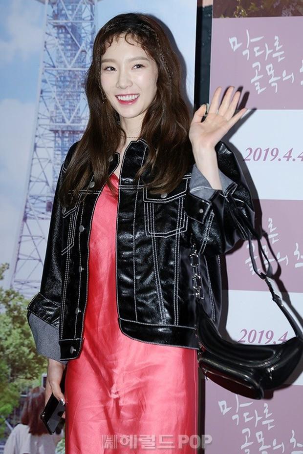 Sooyoung mời cả dàn mỹ nhân SNSD đến sự kiện: Taeyeon thảm họa, em út Seohyun đọ body siêu nuột với nữ diễn viên - Ảnh 5.