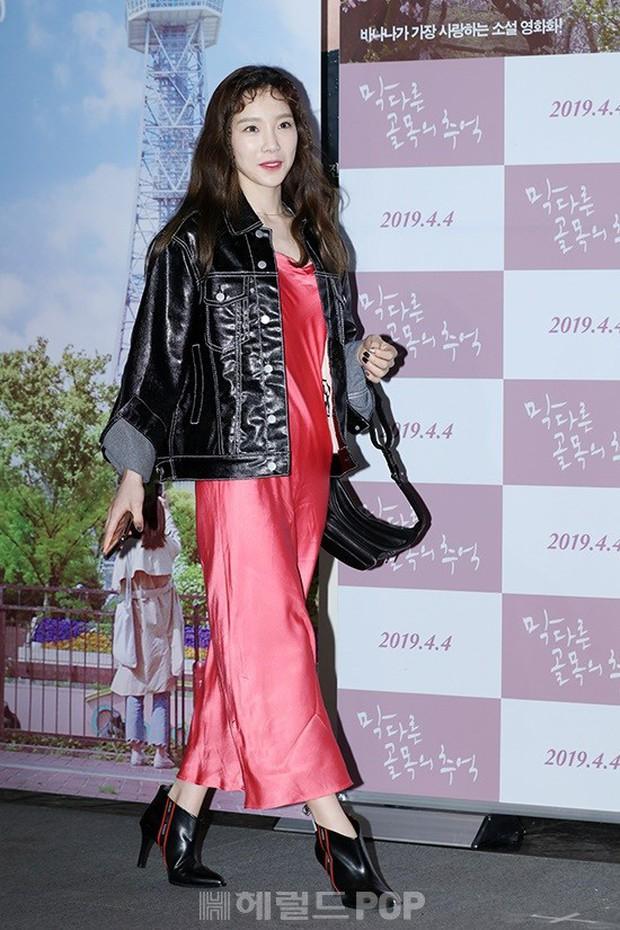 Sooyoung mời cả dàn mỹ nhân SNSD đến sự kiện: Taeyeon thảm họa, em út Seohyun đọ body siêu nuột với nữ diễn viên - Ảnh 4.