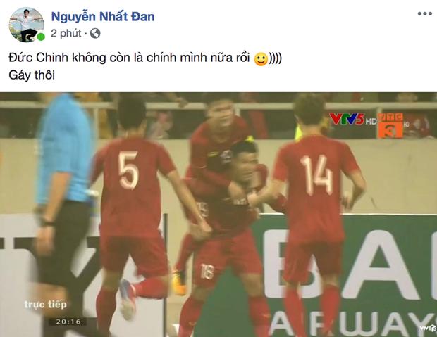Hà Đức Chinh phá lưới Thái Lan mở tỉ số cho U23 Việt Nam: Hôm nay Chinh hết đen rồi! - Ảnh 1.