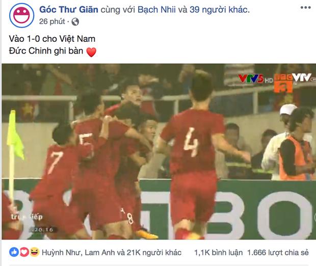 Hà Đức Chinh phá lưới Thái Lan mở tỉ số cho U23 Việt Nam: Hôm nay Chinh hết đen rồi! - Ảnh 3.