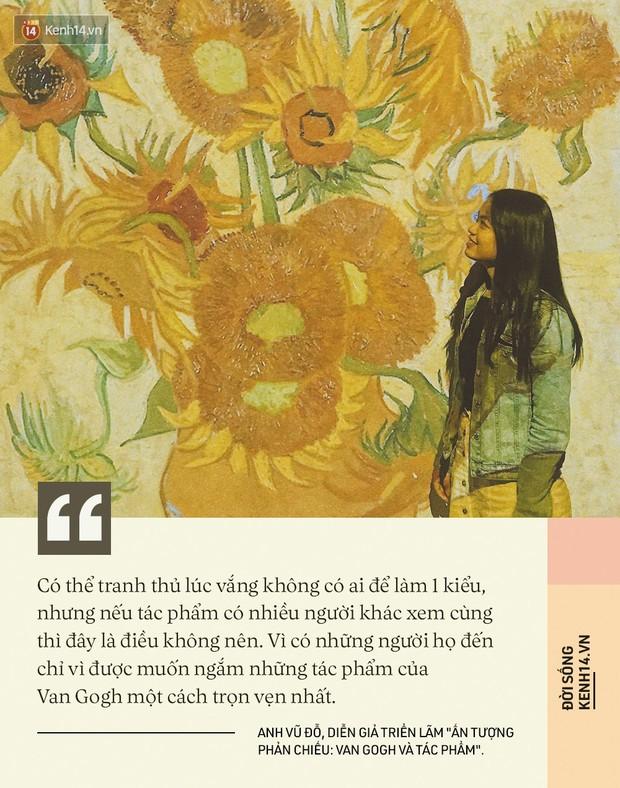 Check-in thì đã sao, chính diễn giả tại triển lãm Van Gogh ở VCCA cho biết: Tôi thấy các bạn tham gia rất lịch sự và nghiêm túc - Ảnh 13.