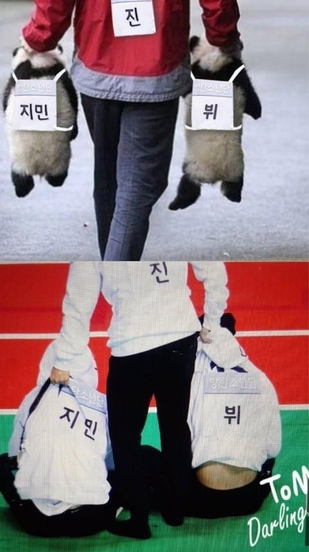 BTS chính là nhóm nhạc nam nghiện động chạm nhất Kpop: Không chỉ thích ôm mà còn sàm sỡ vòng 3 của nhau - Ảnh 17.