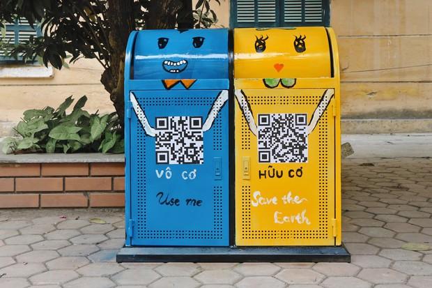 Nhìn những thùng rác này của sinh viên Nhân Văn, ai mà không nhặt rác cho vào đúng là có lỗi với môi trường! - Ảnh 13.