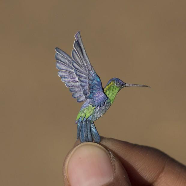 Kinh ngạc trước loạt chim bé bằng móng tay nhưng thông điệp mà chúng truyền tải mới là điều ý nghĩa - Ảnh 6.