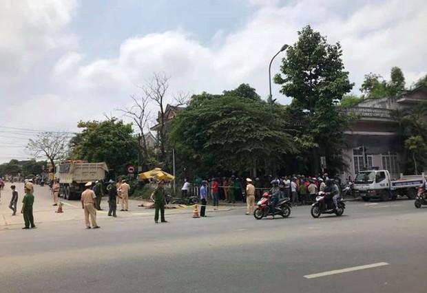 Xe tải va chạm xe máy, 2 phụ nữ tử vong thương tâm - Ảnh 2.