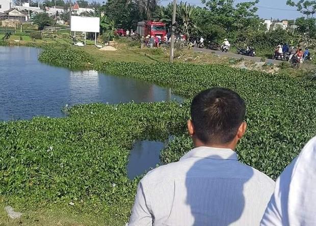 Bơi qua hồ khi đi câu cá, nam thanh niên ở Quảng Nam đuối nước thương tâm - Ảnh 1.