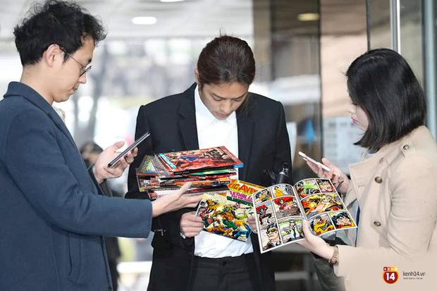 Nhận tội quay lén 10 nạn nhân, Jung Joon Young ngồi tù chán quá thì làm gì: Đọc truyện tranh giết thời gian! - Ảnh 1.
