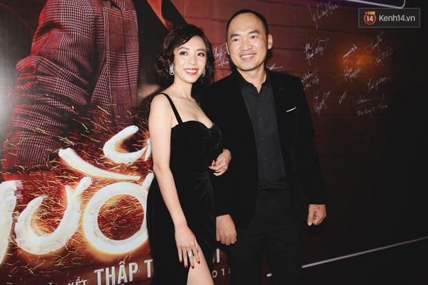 Thu Trang diện đầm hững hờ, bốc lửa đốt mắt bên Tiến Luật tại buổi ra mắt phim điện ảnh Chị Mười Ba - Ảnh 2.