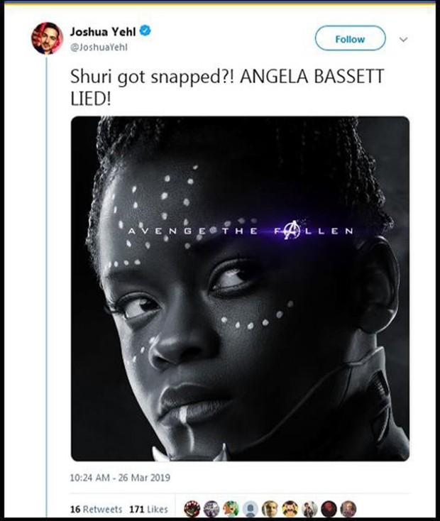 Dân tình dậy sóng khi poster Endgame xác nhận công chúa Wakanda Shuri sẽ chết - Ảnh 3.