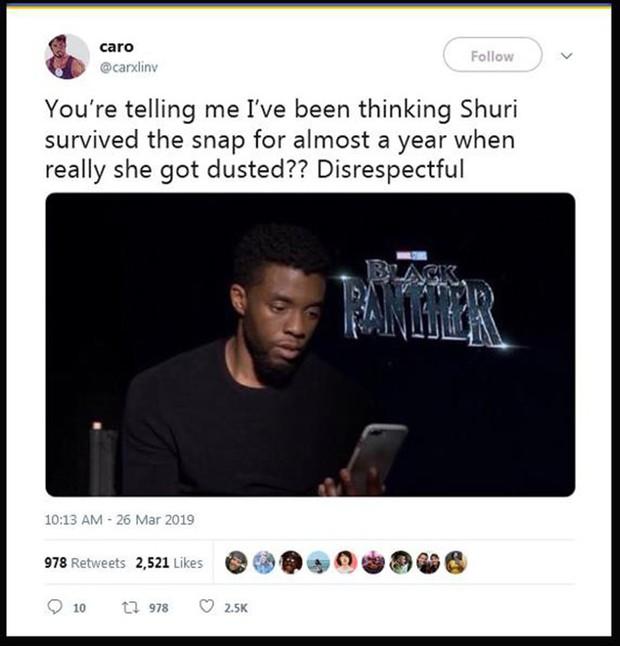 Dân tình dậy sóng khi poster Endgame xác nhận công chúa Wakanda Shuri sẽ chết - Ảnh 5.