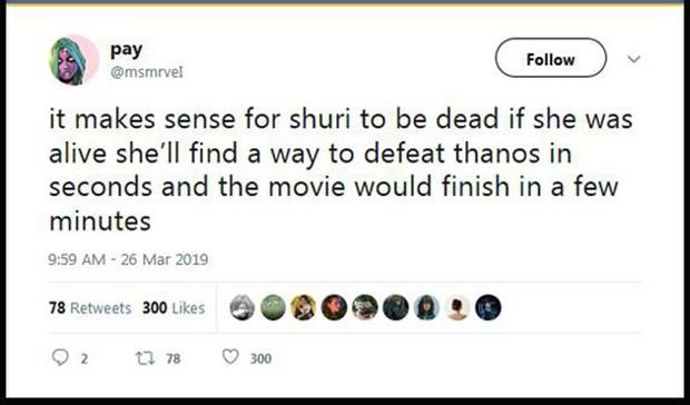 Dân tình dậy sóng khi poster Endgame xác nhận công chúa Wakanda Shuri sẽ chết - Ảnh 7.