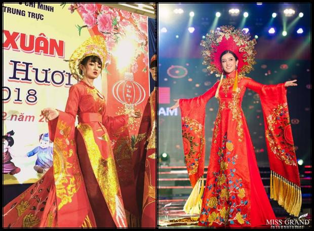 Loá mắt với những bộ váy đẹp ngang tầm Quốc phục đi thi Hoa hậu được học sinh tạo nên từ đồ tái chế - Ảnh 1.