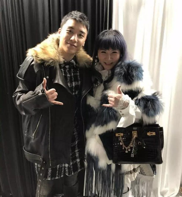 Cuộc sống thượng hạng của nữ kim chủ chống lưng Seungri: Dát hàng hiệu lên người, không tiếc tiền theo chân G-Dragon - Ảnh 1.