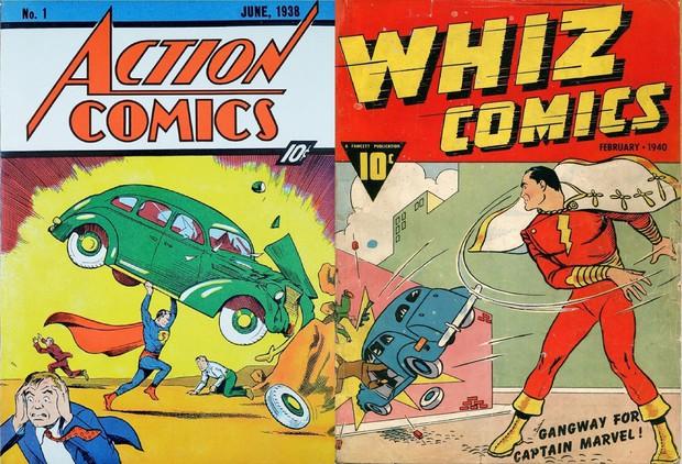 """Bạn có biết: Shazam mới chính là """"Captain Marvel thực thụ""""? - Ảnh 2."""