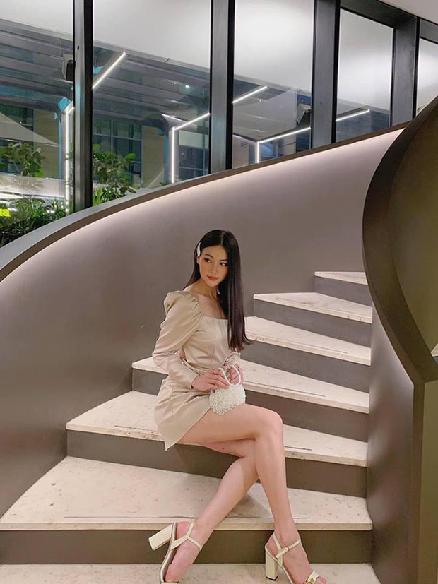 Phương Khánh diện áo tắm khoe thân hình chuẩn đồng hồ cát, catwalk tự tin sau nỗ lực giảm cân - Ảnh 6.