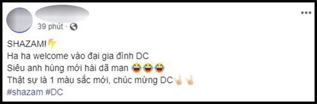 Khán giả Việt sau buổi công chiếu phát cuồng vì Shazam: Phim siêu anh hùng lầy lội nhất từ trước đến nay - Ảnh 4.