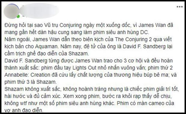 Khán giả Việt sau buổi công chiếu phát cuồng vì Shazam: Phim siêu anh hùng lầy lội nhất từ trước đến nay - Ảnh 6.