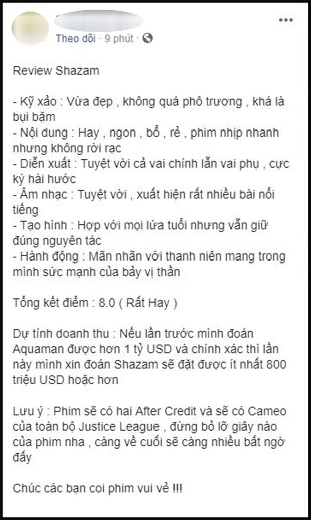 Khán giả Việt sau buổi công chiếu phát cuồng vì Shazam: Phim siêu anh hùng lầy lội nhất từ trước đến nay - Ảnh 7.