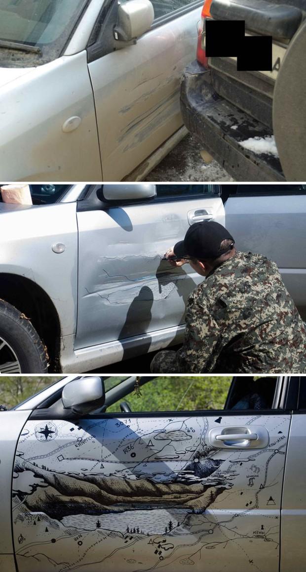 Chết cười với những trường hợp sửa xe bằng IQ vô cực thay vì đem ra thợ - Ảnh 1.