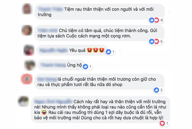 Sau Chiang Mai, các cửa hàng rau ở Việt Nam cũng bắt đầu chiến dịch hạn chế túi nilon - Ảnh 6.