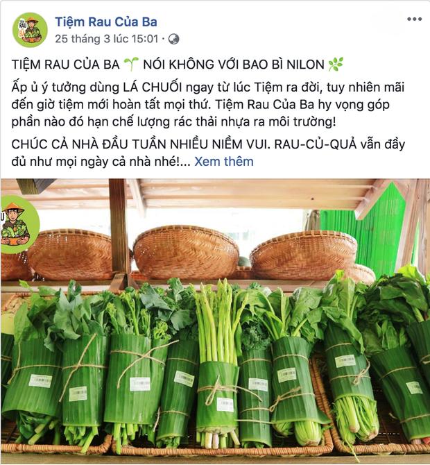 Sau Chiang Mai, các cửa hàng rau ở Việt Nam cũng bắt đầu chiến dịch hạn chế túi nilon - Ảnh 2.