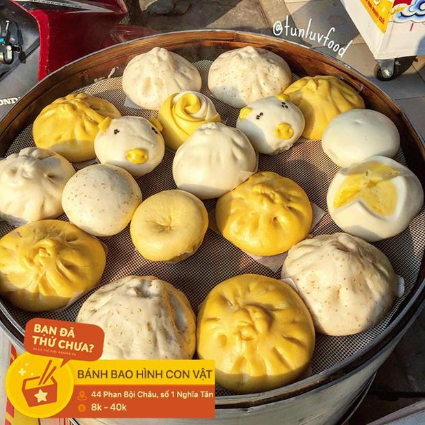 Muôn hình vạn trạng những kiểu bánh bao ở Hà Nội có hình dạng vô cùng phong phú - Ảnh 3.