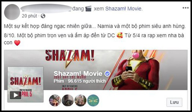Khán giả Việt sau buổi công chiếu phát cuồng vì Shazam: Phim siêu anh hùng lầy lội nhất từ trước đến nay - Ảnh 12.