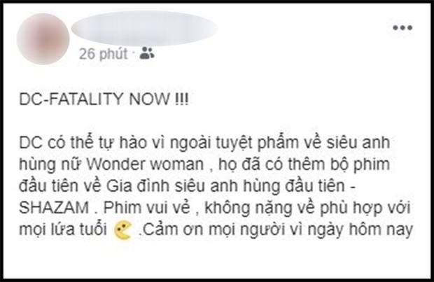 Khán giả Việt sau buổi công chiếu phát cuồng vì Shazam: Phim siêu anh hùng lầy lội nhất từ trước đến nay - Ảnh 13.