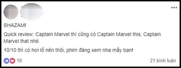 Khán giả Việt sau buổi công chiếu phát cuồng vì Shazam: Phim siêu anh hùng lầy lội nhất từ trước đến nay - Ảnh 14.