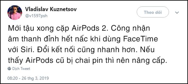 Góc quyết đoán: Dù Apple nói không sửa sang gì AirPods 2, iFan vẫn khăng khăng hay hơn đời 1, thế mới lạ! - Ảnh 2.