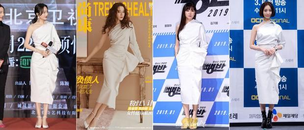 Diện váy hot hit: Lâm Tâm Như, Địch Lệ Nhiệt Ba đều xinh đẹp nhưng Triệu Vy vẫn áp đảo nhờ cá tính riêng - Ảnh 9.