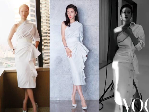 Diện váy hot hit: Lâm Tâm Như, Địch Lệ Nhiệt Ba đều xinh đẹp nhưng Triệu Vy vẫn áp đảo nhờ cá tính riêng - Ảnh 10.