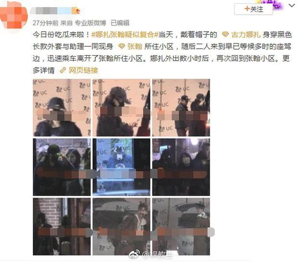 Vừa đi làm về đã xách hành lý sang nhà Trương Hàn, Cổ Lực Na Trát tái hợp với bạn trai cũ sau 2 năm chia tay? - Ảnh 7.