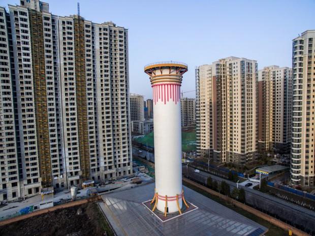 Tháp lọc không khí lớn nhất thế giới tại Trung Quốc: Thanh tẩy 10 triệu m3 khí/ngày, phạm vi rộng 10km2 - Ảnh 2.