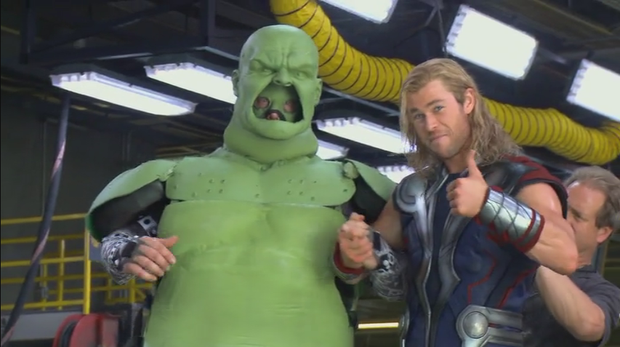 Hậu trường vũ trụ điện ảnh Marvel: Hulk giống thú nhồi hàng trả về, siêu anh hùng cũng phải makeup! - Ảnh 7.