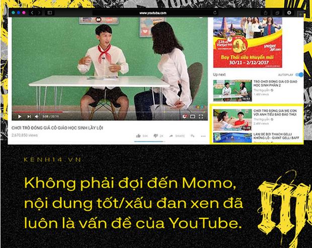 Cho trẻ xem YouTube một mình chẳng khác nào ném con mình vào tay những kẻ bệnh hoạn đã tạo ra Thử thách Momo - Ảnh 5.