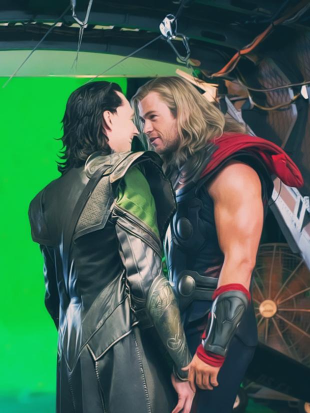 Hậu trường vũ trụ điện ảnh Marvel: Hulk giống thú nhồi hàng trả về, siêu anh hùng cũng phải makeup! - Ảnh 11.