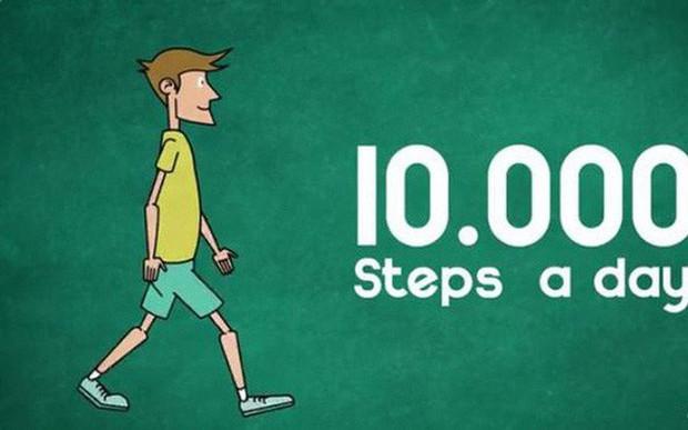 Mỗi ngày đi bộ tới 10.000 bước có tốt cho sức khỏe hay không?  - Ảnh 1.