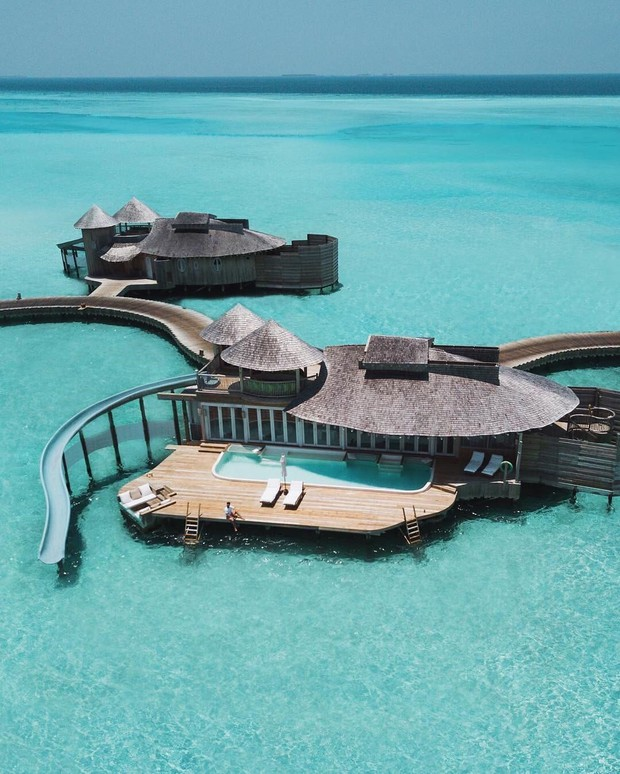 Choáng với khu nghỉ dưỡng sang chảnh bậc nhất Maldives, chỉ dành cho giới giàu đến siêu giàu - Ảnh 15.