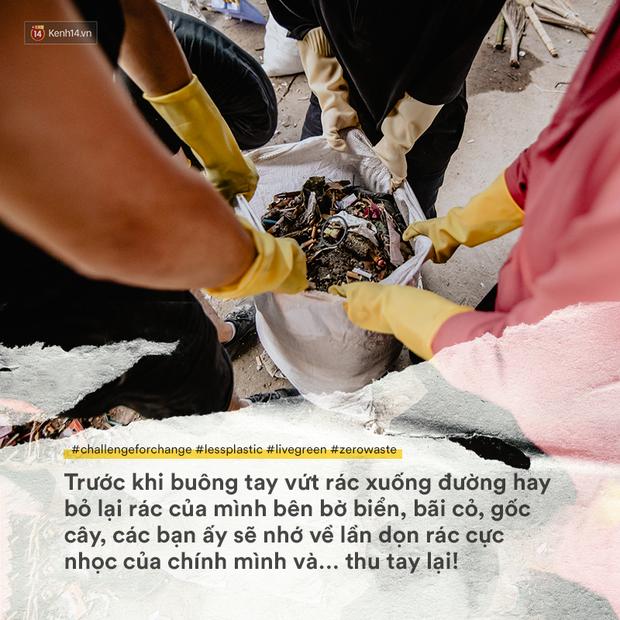Thử thách dọn rác đang thay đổi tất cả: Không còn xấu hổ, chúng ta tự hào và tự tin hơn - Ảnh 4.
