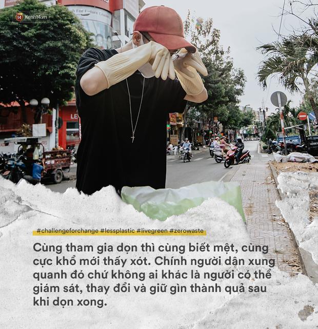 Thử thách dọn rác đang thay đổi tất cả: Không còn xấu hổ, chúng ta tự hào và tự tin hơn - Ảnh 7.