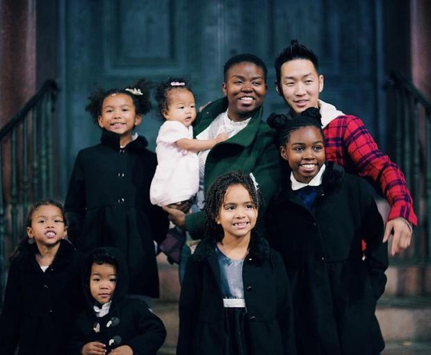 Chuyện tình của cặp đôi chàng người Hàn nàng gốc Phi: Bạn từ thời trung học, đến với nhau khi nàng đã qua 2 lần đò và có tận 4 đứa con - Ảnh 4.