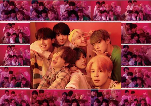 BTS cùng một cựu thành viên Wanna One đồng loạt nhá hàng ảnh siêu đẹp và sáng tạo khiến fan phấn khích - Ảnh 1.