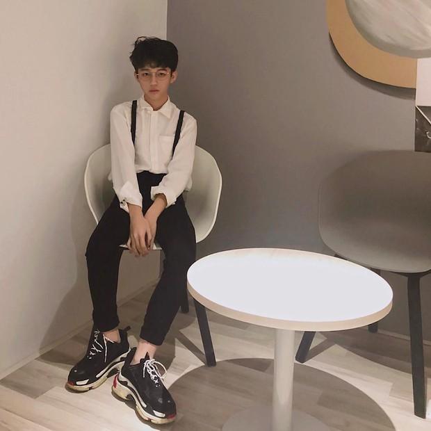 Hội con nhà giàu Việt đón chào thành viên mới: 15 tuổi đã cực kì bảnh bao, đẹp trai như idol Hàn Quốc - Ảnh 4.