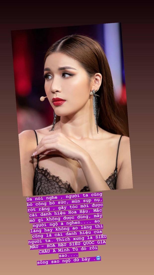 Không được công nhận là Hoa hậu, Minh Tú nhắn gửi đôi lời đến antifan tặng kèm thêm bức ảnh sexy hết cỡ - Ảnh 1.