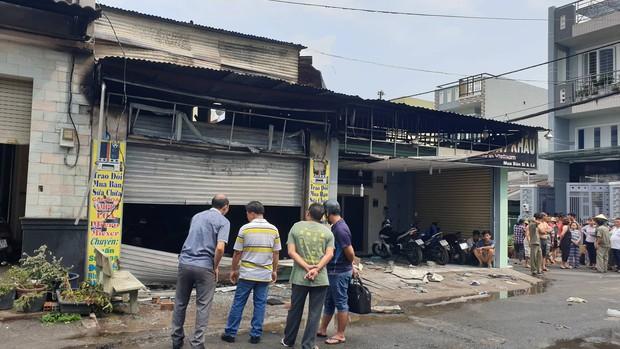 Cháy cửa hàng điện tử ở Sài Gòn, cụ ông 75 tuổi bị tai biến tử vong do mắc kẹt - Ảnh 1.